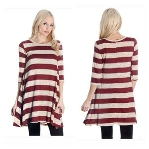 Tops - Striped top
